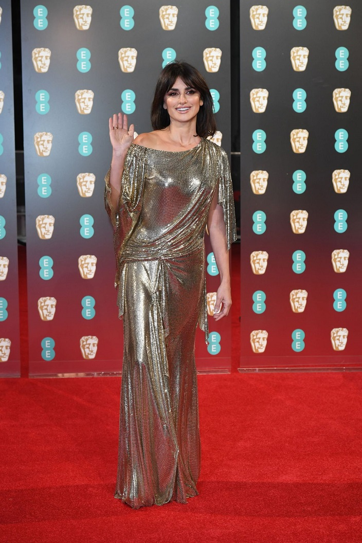 Penélope Cruz at BAFTA Awards 2017 in London, UK