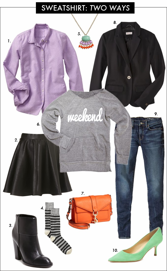 sweatshirts, fashion trend, pumps, booties, skater skirt, how to wear sweatshirt, weekend sweatshirt, wifey sweatshirt, nordstrom, gap, target, ILY COUTURE
