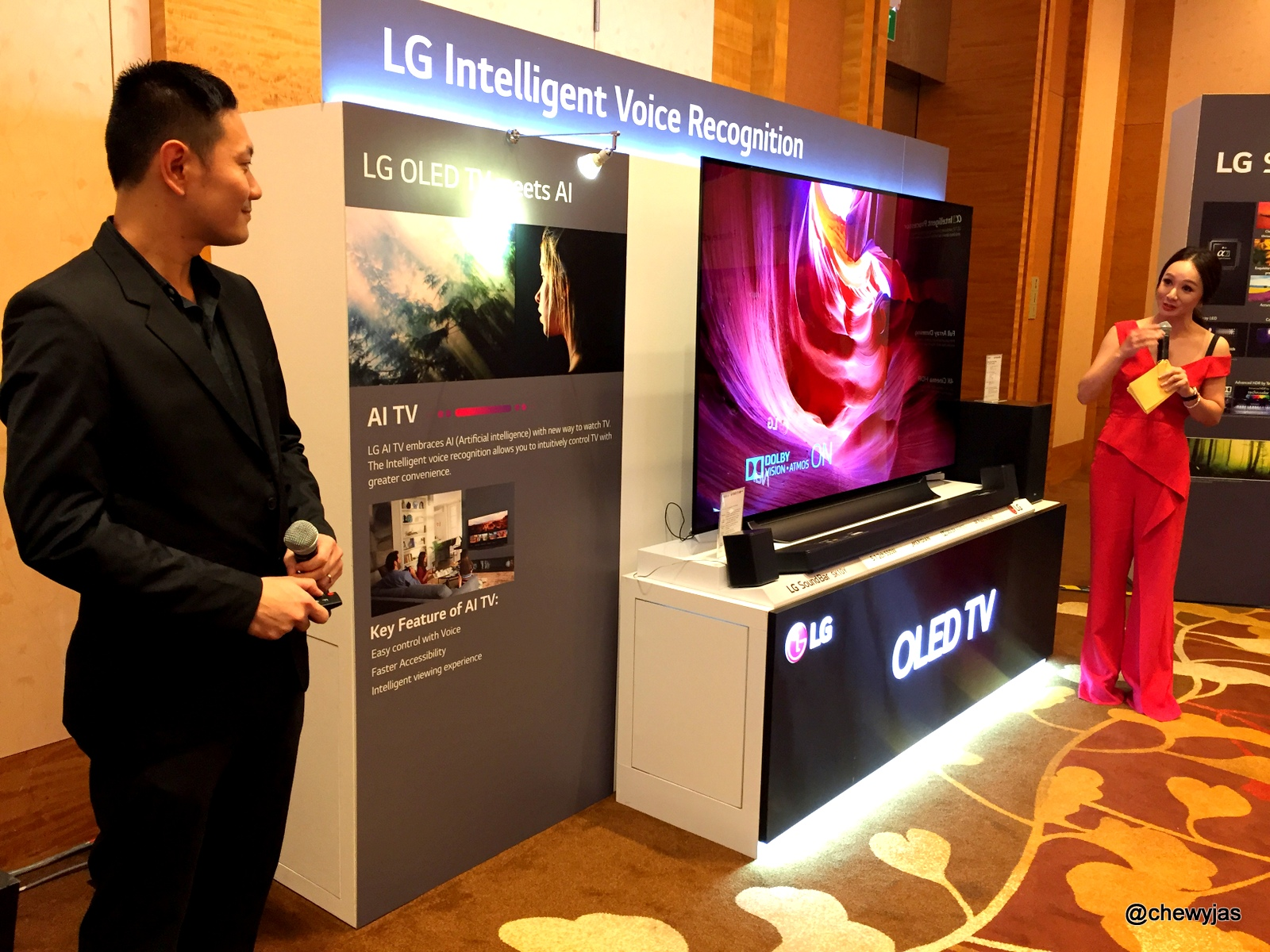 ChewyJas: [EVENT] LG 2018 Home Entertainment & IT Media Launch