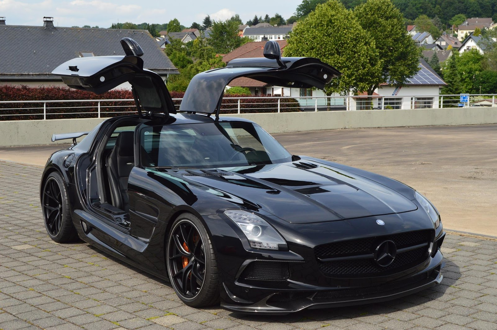 Mercedes - Benz Sls Amg Inden Design Breathes Life Into The Mercedes Sls Amg