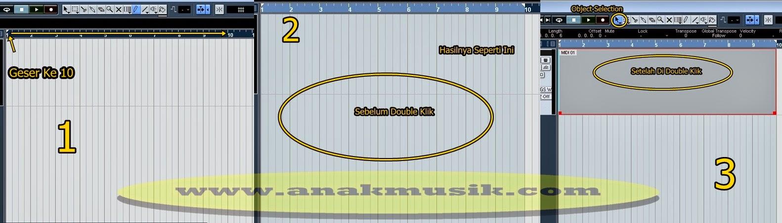 3. Cara Membuat Midi Drum Di Nuendo 4