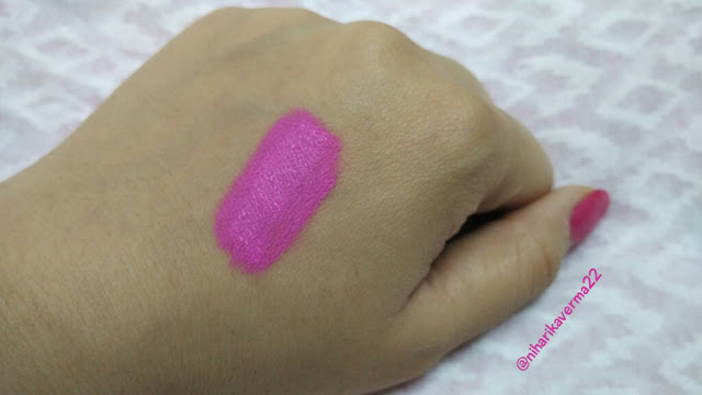 L.A. Girl Matte Flat Finish Pigment Gloss - Review and Swatches 3