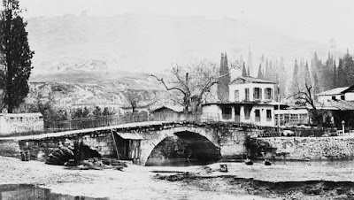 The Caravan Bridge in Turkey, near the Greek town of Smyrna