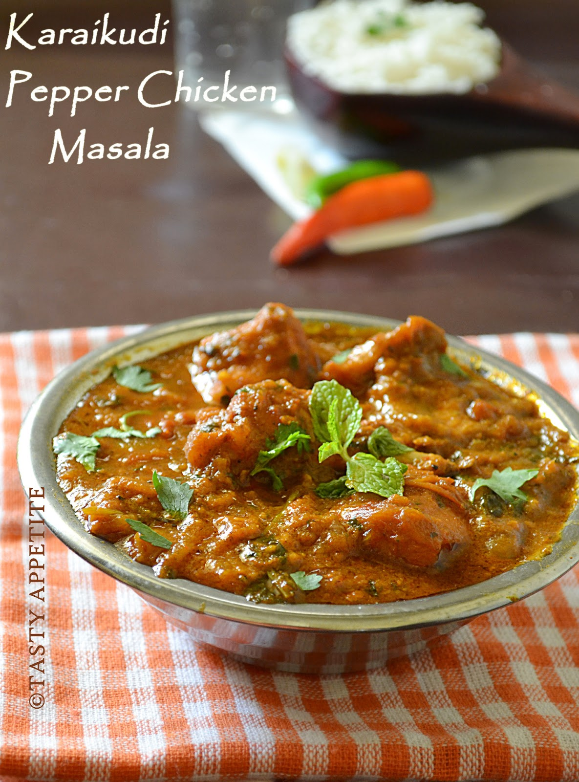 How To Make Chettinad Pepper Chicken Masala Karaikudi