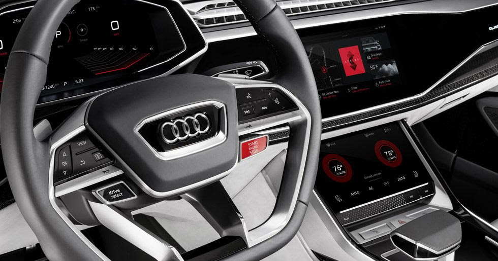 Audi Q8 Sport Concept Headed To Google I O With Android