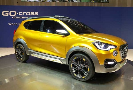 datsun go cross