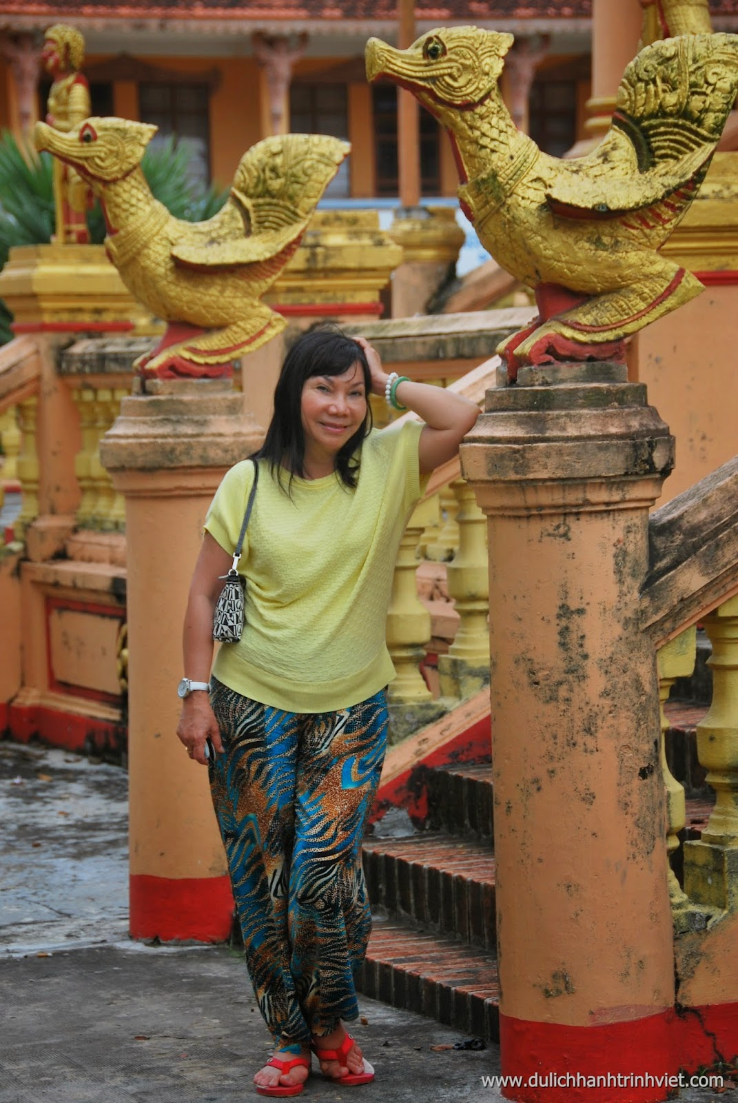 HTV tham quan chùa ở Sóc Trăng 2014