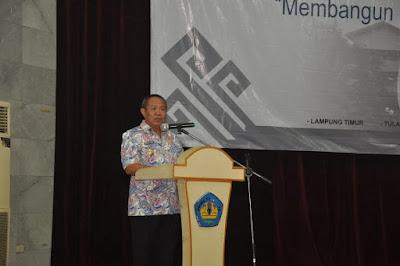 Wagub Bachtiar Titip Pesan Pembangunan Kepada 2.714 Mahasiswa KKN Unila