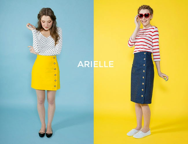 Arielle - easy skirt sewing pattern