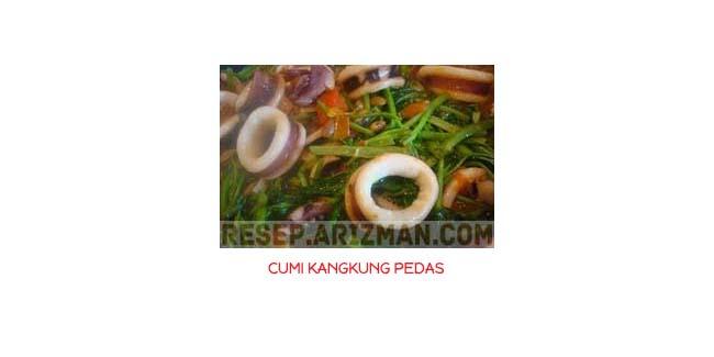Cumi Kangkung Pedas