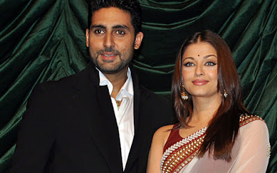 World Most Beautiful Lady with Her Husband Abhishek in an Event