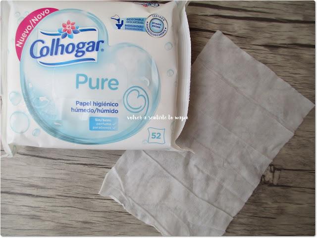 Colhogar, papel higiénico húmedo