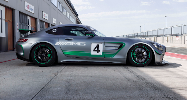 2018 New Mercedes-AMG GT4 Race Car Reporting For Duty At Spa-Francorchamps