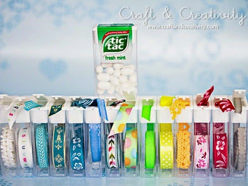 Reusing Tic Tac Containers