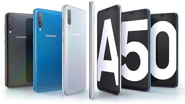 Fitur Spesifikasi Samsung Galaxy A50 dan Harga Terbaru (2019) di Indonesia