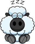 1092728-Clipart-Cute-Baby-Sheep-Sleeping