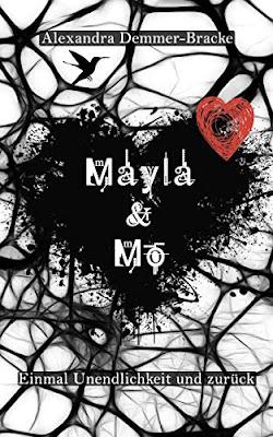 Neuerscheinungen im April 2019 #1 - Mayla & Mo 1: Einmal Unendlichkeit und zurück von Alexandra Demmer-Bracke