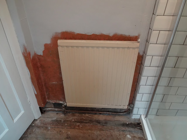 Removing an Old Radiator