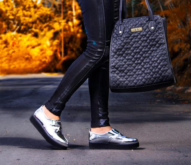 moda, fashion, trendy, tendencia, outfit, look, ootd, chic, blogger, personal style, style, estilo, stephtopia, metalizado, cuero