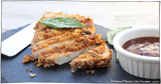 Crispy Breaded Tofu Steak Recipe