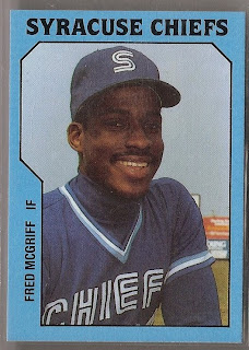 Baseball Card Breakdown One True Rookie Fred Mcgriff