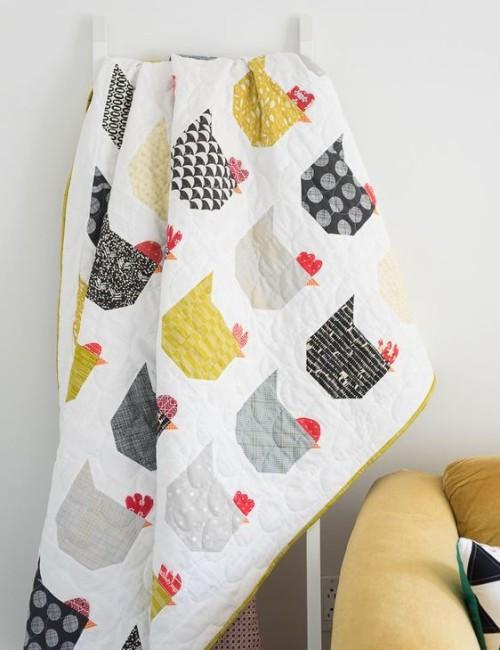 The Chicken Quilt - Free Pattern