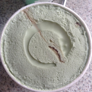 oppo mint choc swirl ice cream