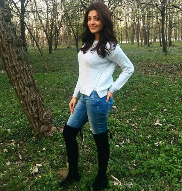 Actress KajalAggarwal Latest Photos