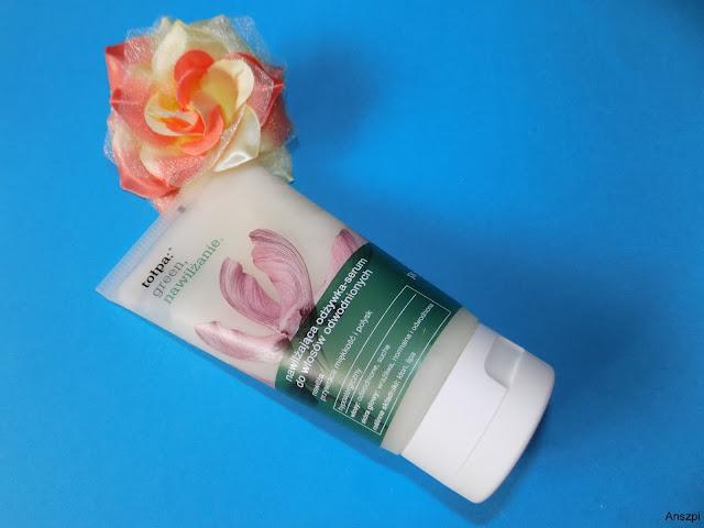 Nawilżająca odżywka-serum do włosów odwodnionych, Topła Green