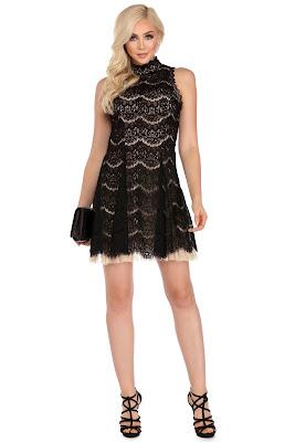 Coleccion de Vestidos Cortos con Encaje