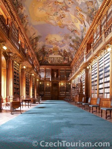 Sala Filosófica, Monasterio de Strahov (Praga, República Checa)