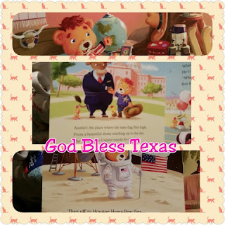 god bless texas  book collage