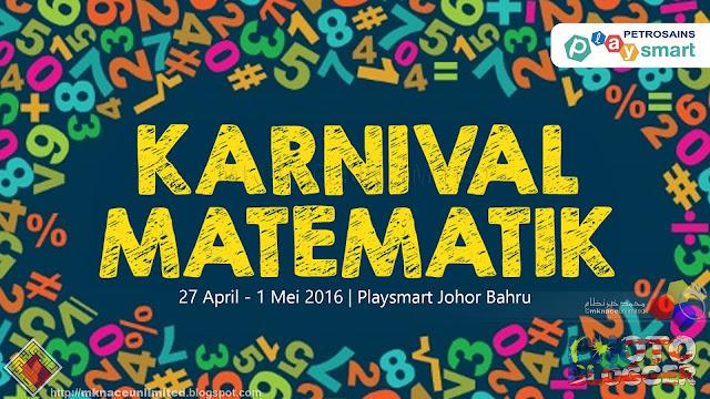 Karnival Matematik Petrosains Playsmart Johor Bahru 2016
