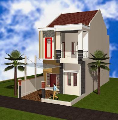 desain eksterior rumah minimalis 2 lantai | desain rumah