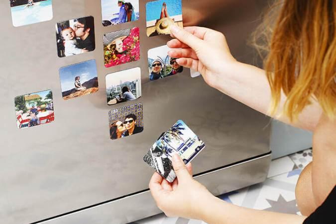 Imanes personalizados con tus imágenes - Cheerz