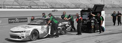 Blake Koch – Las Vegas Motor Speedway Preview #nascar