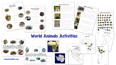 http://homeschoolden.com/2017/05/30/world-animal-packet-60-pages/