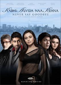 Poster Of Bollywood Movie Kabhi Alvida Naa Kehna (2006) 300MB Compressed Small Size Pc Movie Free Download worldfree4u.com