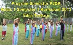 Program Semester PJOK Kelas 1 Semester 1 Kurikulum 2013 Edisi Terbaru