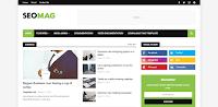 Template Blogger Niche Seo Mag SEO Mag adalah template blogger profesional yang sempurna untuk iklan dan adsense. Ini memiliki desain yang sepenuhnya responsif dan cocok untuk berbagai ukuran layar, SEO Mag juga sepenuhnya dapat disesuaikan dan fleksibel. Ketika datang untuk meningkatkan penghasilan iklan, itu tidak mengecewakan, karena memiliki beberapa area iklan strategis.