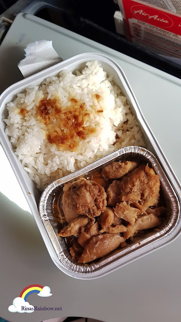 Air Asia Adobo Meal