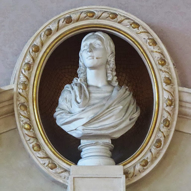 Bust of Angelica Palli, Town Hall, Livorno