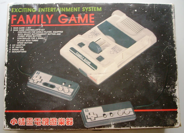 ... da Consola Family Game/Famicom