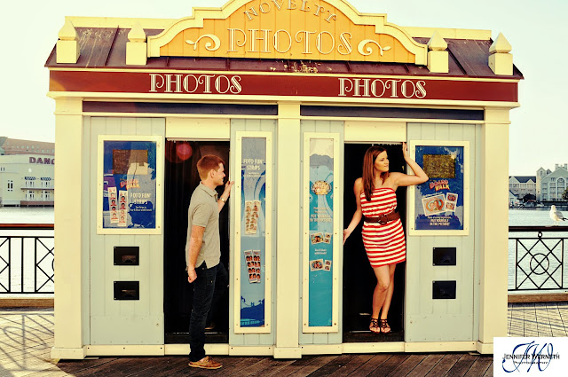 ENGAGEMENT PHOTOGRAPHY DISNEY BOARDWALK