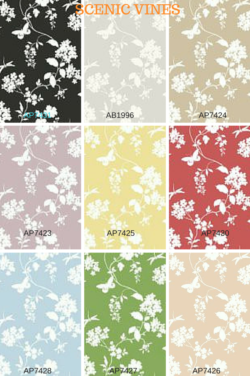 TnWallpaperHanger: Wallpapering Project: Hall Bathroom - AP7429