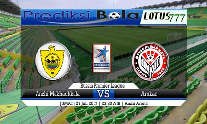 Prediksi Pertandingan antara Anzhi Makhachkala vs Amkar Tanggal 21 Juli 2017