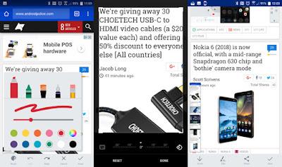 تطبيق Screen Capture Tool من شركة HTC لإلتقاط سكرين شوت