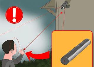 cara hack kamera cctv led laser langkah 6
