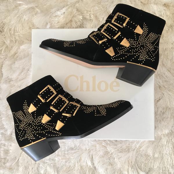 black Chloe Susanna boots