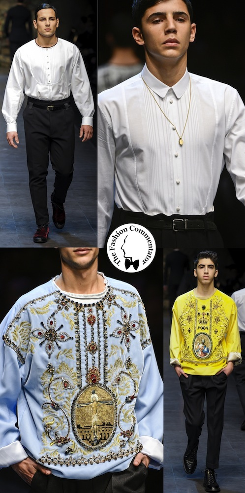 Dolce e Gabbana UOMO - Fall Winter 2013 - Chierichetti